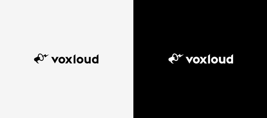 voxloud logotype colours