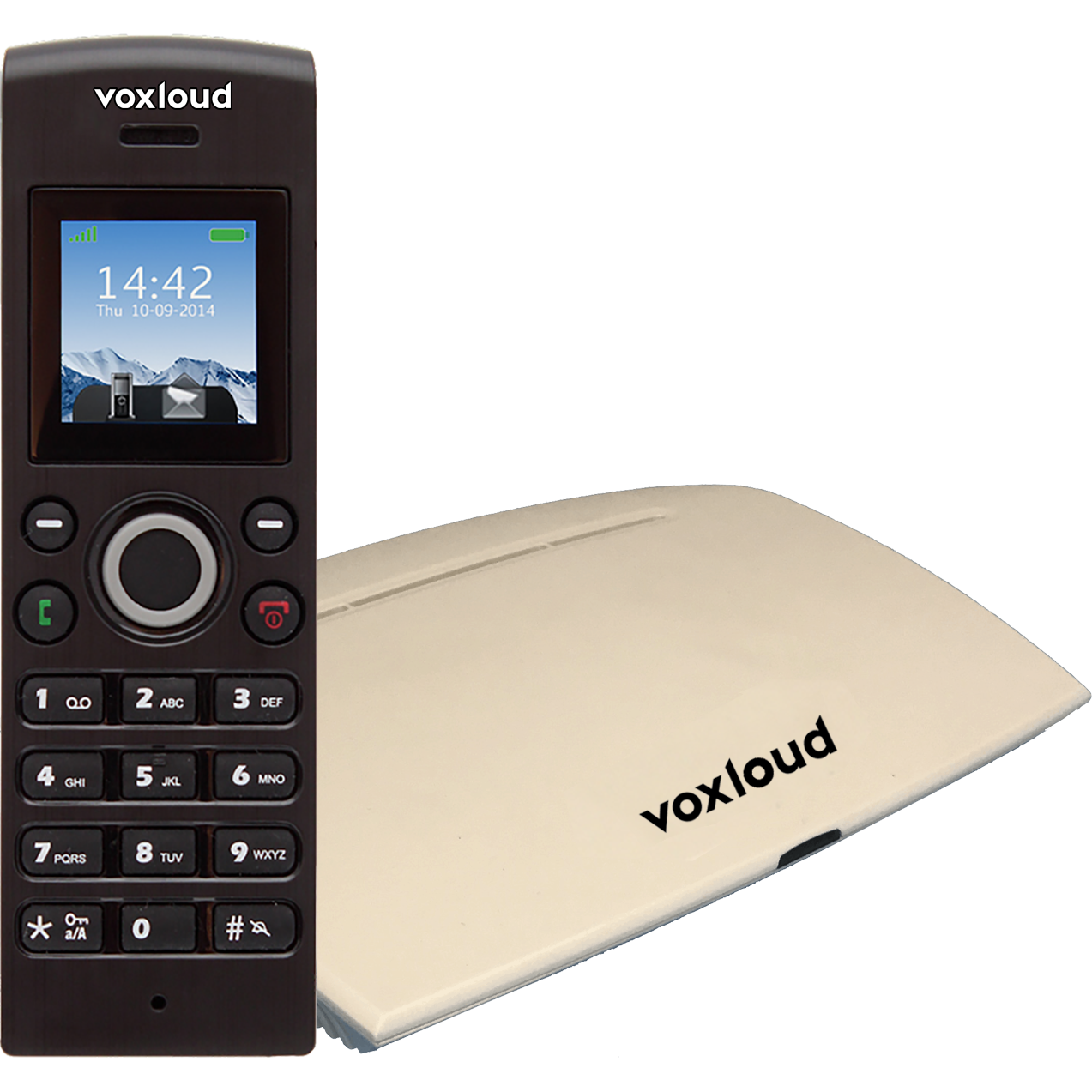 voxloud phone-air-base-cordless-new